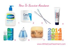 I've been on Accutane for 4 months now. This is a great list. I highly recommend Dr. Lipp Original Nipple Balm for Lips and always have a jar of coconut oil for cleansing your face at night! Skin Care Regimen, Skin Care Tips, Cetaphil, Homemade Skin Care, Facial Care, Flawless Skin, Acne Treatment, Anti Aging Skin Care, Good Skin