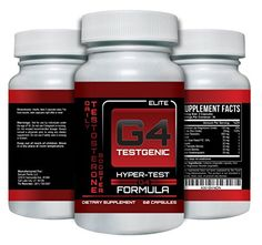 G4 Testgenic Testosterone Booster - Increase Testosterone, Libido & Energy - 9 Powerful Ingredients, 60 Caps