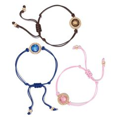 Radiate positive energy all day long with these stylish string bracelets. Features faux stones on an adjustable cord with each color serving a different meaning. Regularly $15.99, shop Avon Jewelry online at http://eseagren.avonrepresentative.com