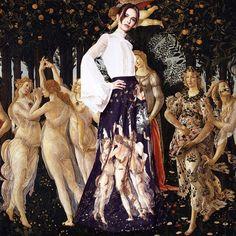 Alice + Olivia & Sandro Botticelli - AS A MUSE