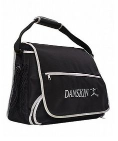 Another great find on #zulily! Black & Silver Messenger Bag by Danskin #zulilyfinds