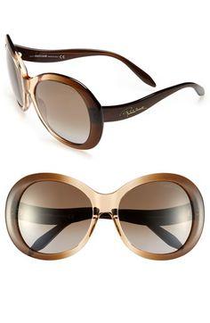 Roberto Cavalli 60mm Oversized Sunglasses