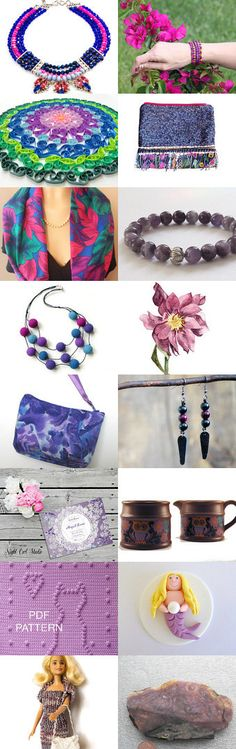 PURPLE, MAUVE Magenta, Purple, Mauve, Handmade Items, Shops, My Favorite Things, Yellow, Etsy, Tents