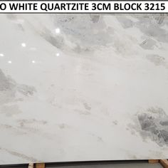 DAMASCO WHITE QUARTZITE 3CM BLOCK 3215 |