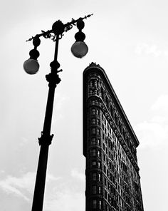 Photography by Fred Stein, New York City - Flat Iron Building, 1947. http://www.fredstein.com/