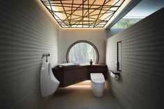 I adore. This Japanese toilet design. Toilet. And. Urinal. Very modern. I adore. The whole. Design ,, everything