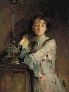 Art and Salt — Mrs Charles Russell - John Singer Sargent