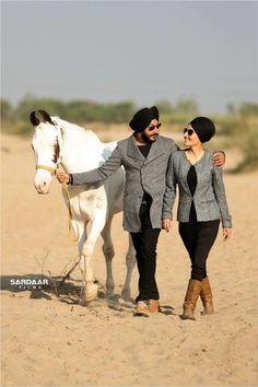 Harjit Singh Punjabi Wedding Couple, Couple Wedding Dress, Punjabi Couple, Sikh Wedding, Wedding Suits, Wedding Shoot, Wedding Couples, Bridal Photography, Couple Photography