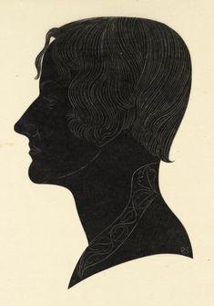 Eric Gill, 'Beatrice Warde' 1926