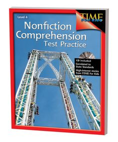 Look at this Nonfiction Comprehension Test Practice: Grade 4 on #zulily today!
