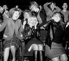 """the60sbazaar: """" Fans at a Manchester Beatles concert """""""