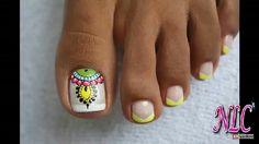 Pedicure Designs, Pedicure Nail Art, Toe Nail Designs, Toe Nail Art, Sexy Nails, Hot Nails, Hair And Nails, Nails 2018, Beach Nails