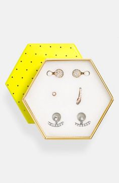 BaubleBar 'Ear Silhouette' Ear Jacket Gift Set available at #Nordstrom