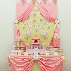 girlie circus una Hermosa idea para una gran fiesta.