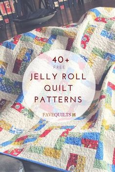 I have so many jelly rolls that I don't know what to do anymore. Love the ideas here though.