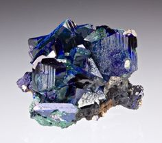 Azurite from Morocco by Dan Weinrich