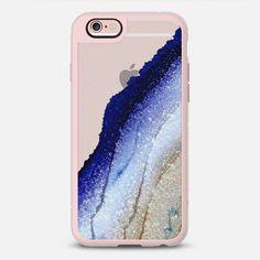 FLAWLESS ROYAL BLUE & FAUX GOLD by Monika Strigel - New Standard Case