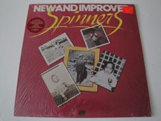 SPINNERS NEW AND IMPROVED VINYL LP ORIGINAL 1974 ATLANTIC RECORDS STEREO EX #ClassicRBDiscoDooWopFunkSoul