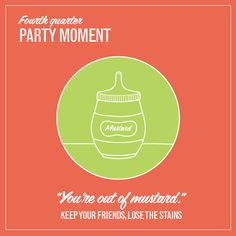 Stain Tip 4 of 4: Mustard