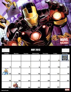 ✭ Marvel 2013 Calendar