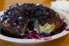 Giant Blueberry Pancake