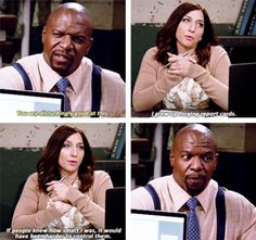 """She's smarter than any of us will ever know. 