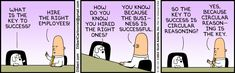The key to success - The Dilbert Strip for May 25, 2013