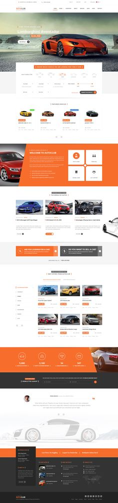 Engines is wonderful #PSD template for #Car Dealer, #Auto #Dealer ...