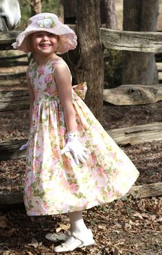 Love this for a flowergirl!