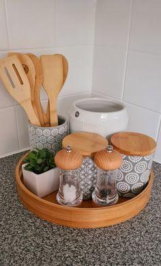 Kitchen Room Design, Kitchen Dinning, Home Room Design, Home Design Decor, Home Decor Kitchen, Home Kitchens, Diy Home Decor, Cute Kitchen, New Kitchen