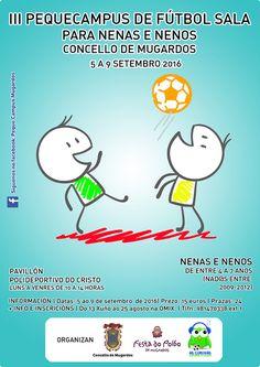III Pequecampus de fútbol sala para nenas e nenos Concello de Mugardos