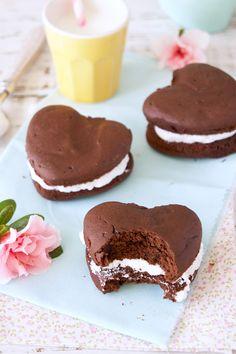Whoopie Pie de Chocolate com Marshmallow | Vídeos e Receitas de Sobremesas