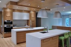 Contemporary kitchen by Johnson & Associates Interior Design