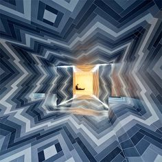 A Dizzying Tile Installation by Lily Jencks and Nathanael Dorent