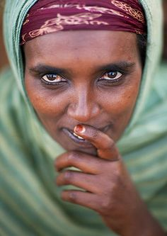 Borana Tribe Woman, Marsabit District, Marsabit, Kenya © Eric Lafforgue