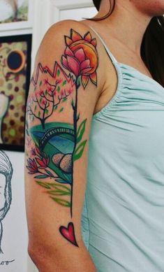 Majestic Arm Tattoo