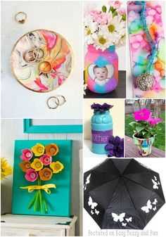 Mothers Day Crafts for Kids - Kid Made Gifts