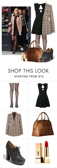 """Celeb's style: Taylor Swift"" by nindunia on Polyvore featuring Music Legs, Miu Miu, Theory, Frye and Yves Saint Laurent"