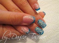 nail art: Duska-all five:)