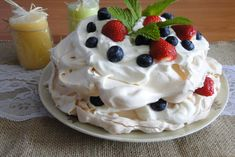 Pavlova, Food And Drink, Pie, Pudding, Cooking, Desserts, Recipes, Cakes, Torte