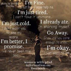 Women with ptsd information on facebook