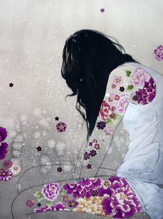 Violet Rose sm. Stasia Burrington