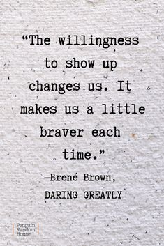 Quote from Daring Greatly A powerful quote from Brene Brown's book on the power of vulnerability, Daring Greatly. Quote from Daring Greatly Quotes To Live By, Me Quotes, Motivational Quotes, Best Book Quotes, Inspirational Quotes From Books, Courage Quotes, Change Quotes, Lyric Quotes, Quotes From Women