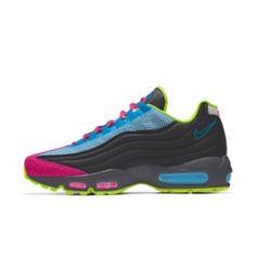 Nike Air Max 95 3M™ By You Custom Shoe Air Max 95, Nike Air Max, Nike Id Shoes, Air Max Sneakers, Sneakers Nike, Custom Shoes, Fashion, Nike Tennis, Custom Tennis Shoes