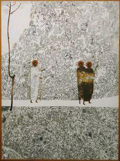 Ivanka Demchuk - Ukranian Painter - Forty days on Earth