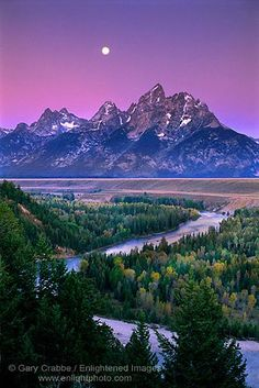 The Teton Mountain Range is the youngest mountain range in the Rocky Mountains and measures 40 miles long by 8 miles wide.  Visit Grand Teton National Park in style on a luxury tour with Destination West. Photo by enlightphoto