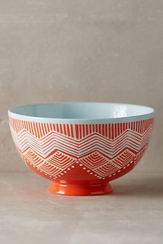 Linhas Bowl | Anthropologie