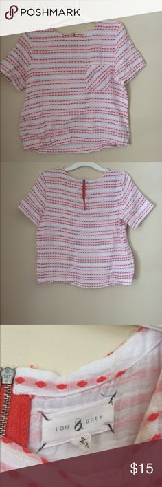 Like New LOU & GREY Top In excellent condition no wear or tear, matching shorts are also Available Lou & Grey Tops Blouses