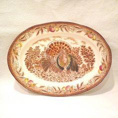 Ceramic Turkey Platter, Japan  | GreatDesign - Kitchen & Serving on ArtFire