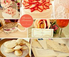 parisian wedding party